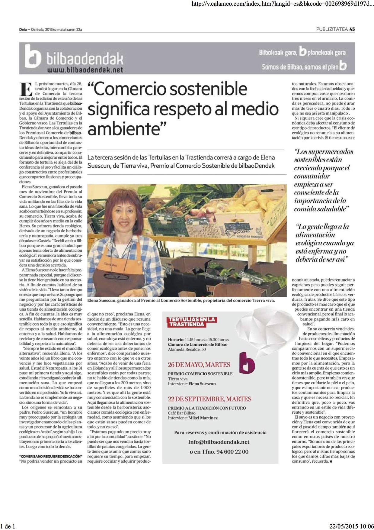 DEIA - Bilbaodendak 22052015